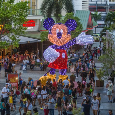 MICKEY NO NATAL DO SHOPPING NORTE